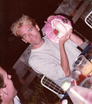 A Martha Stewart birthday cake