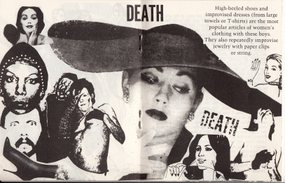 Taking on the meaning of drag, 1975
