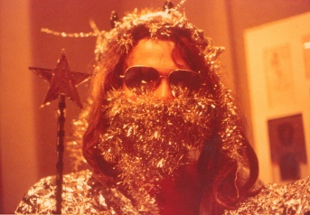 Jim as a Silver Father Jesus Christmas.