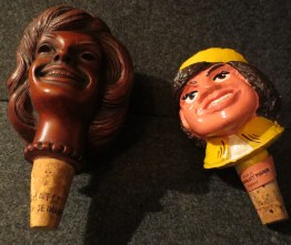 Jackie wine bottle stoppers.