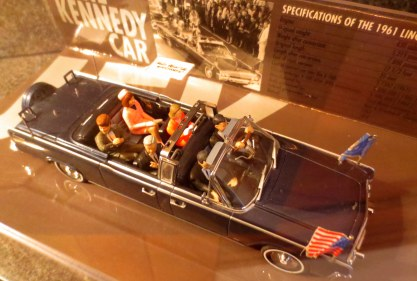 No Jackie collection would be complete without a replica of the convertible.