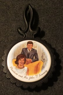 Trivets make wonderful collectibles especially when associated with someone like Jackie who loved to cook. She would always be up first thing Sunday mornings to rustle up a skillet of sausage gravy for Jack and the kids.