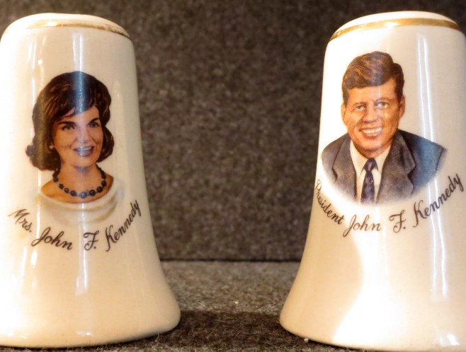 The salt and pepper shakers that started the whole collection.