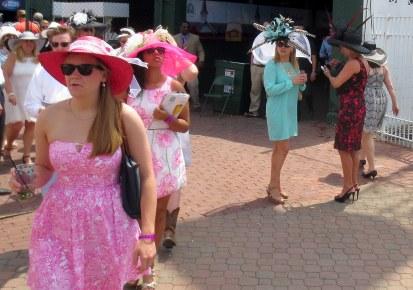 The pink conga