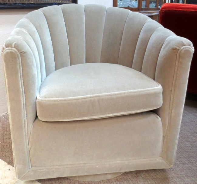 Channel Back Swivel Chair