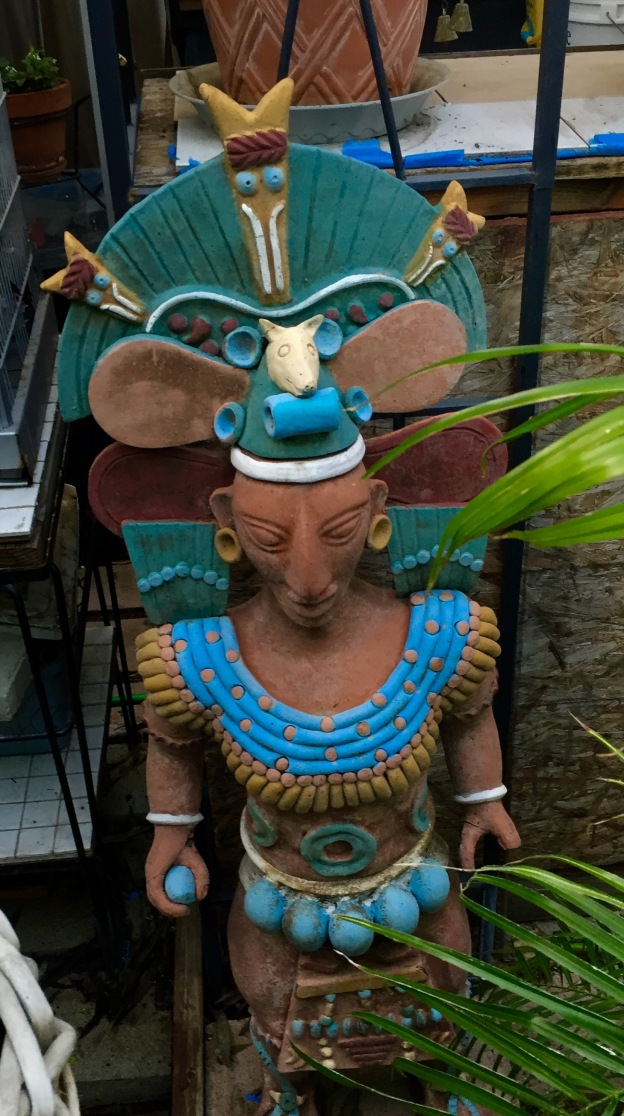 New Mayan God to worship.