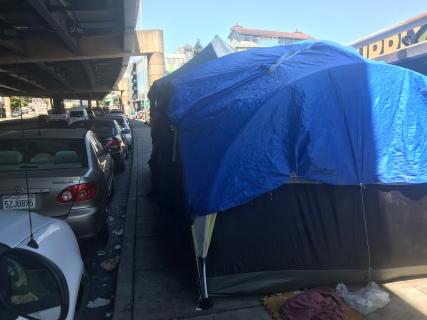 Charlotte Schultz's Hospitality Tent