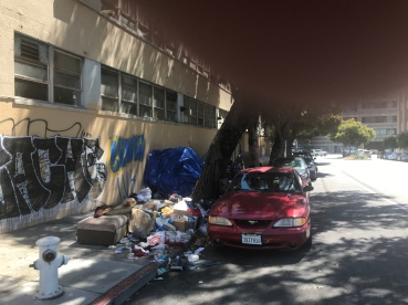 Like customer service at Amazon during its muti-billion dollar profit quarter, street cleaning has been suspended